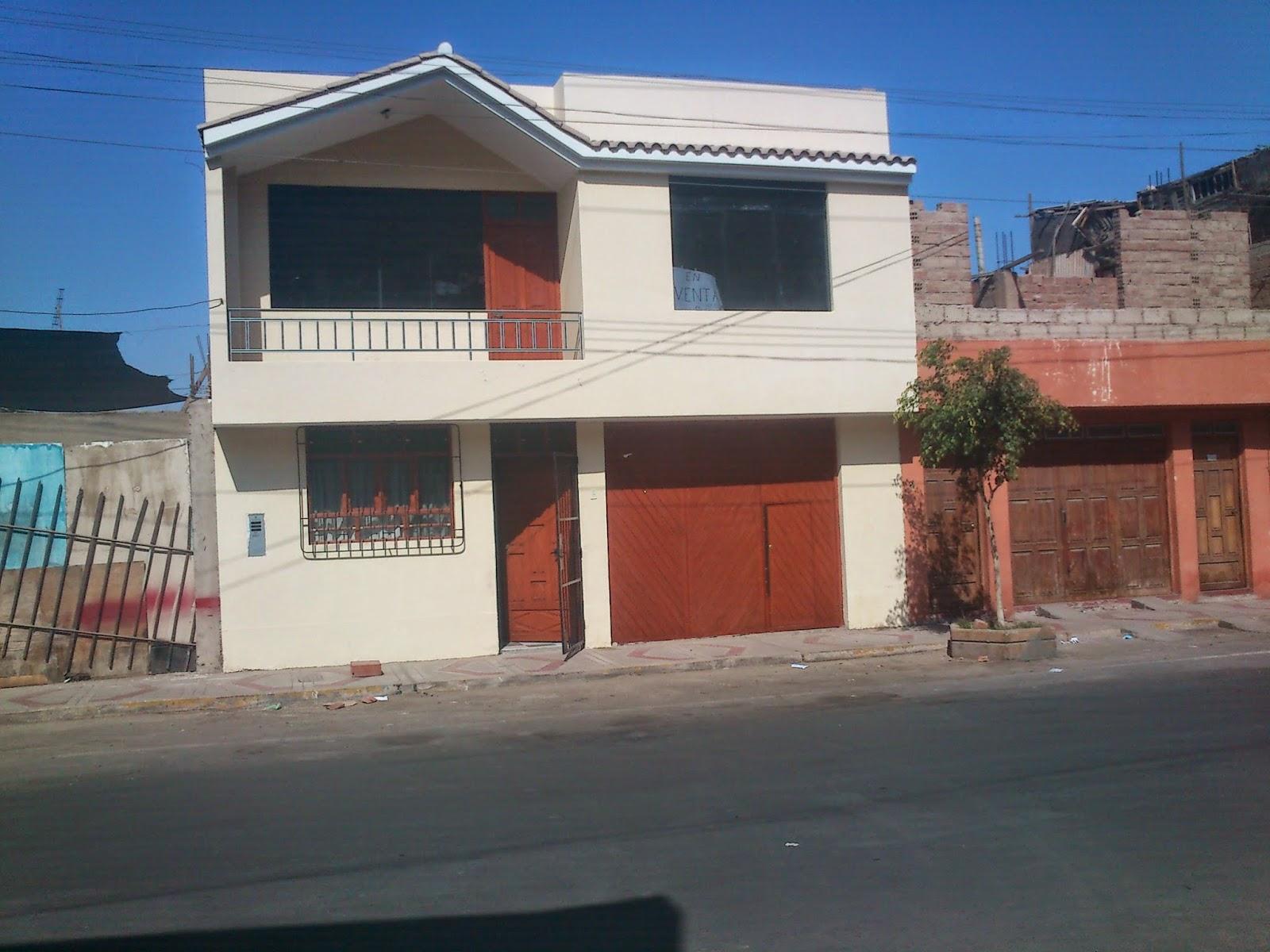 Vendo casa de 2 pisos por la portada del sol tacna peru for Inmobiliaria la casa