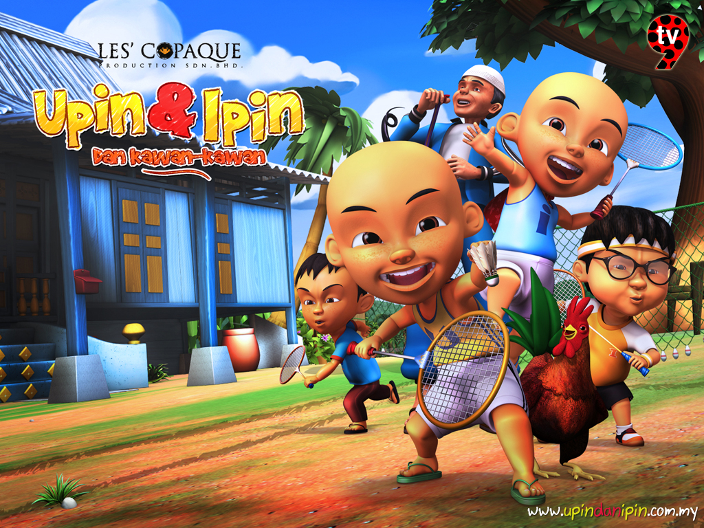 Info: Upin & Ipin Animation
