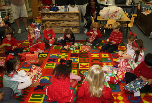 little pumpkin grace: Preschool Christmas Party