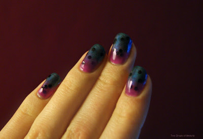 night nail art