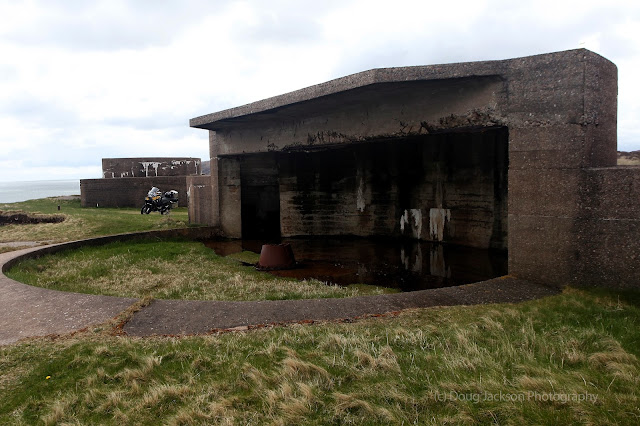battery WWII Stornoway