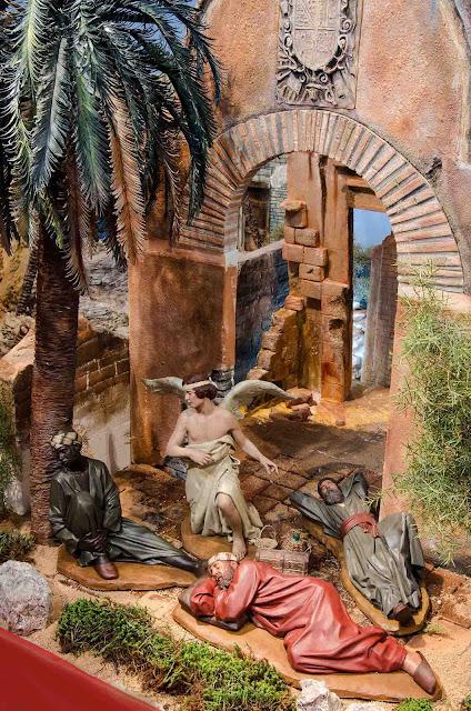 Belén Magos presepe nativity krippe Arturo Serra escultura barro cocido 12
