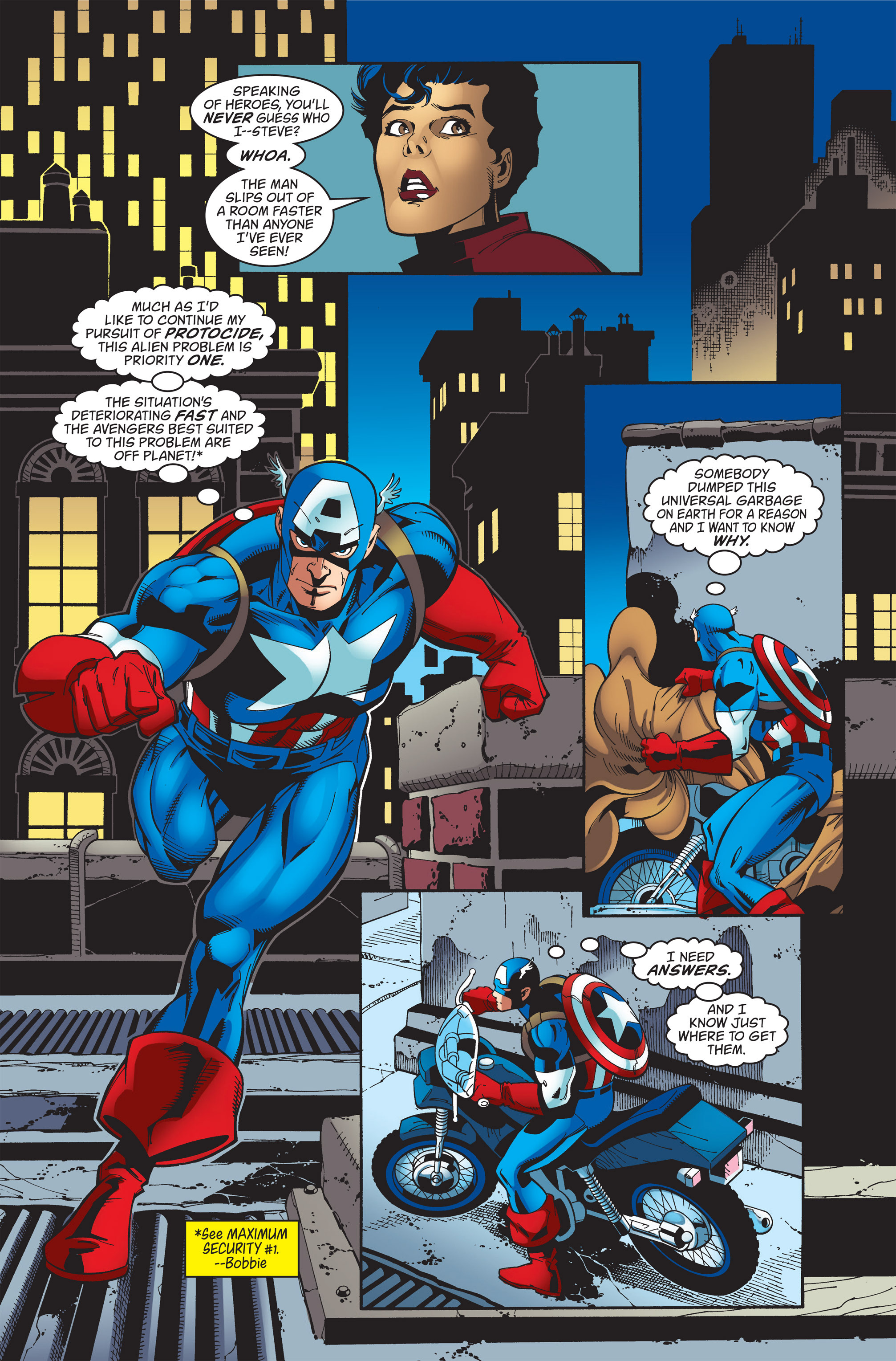Captain America (1998) Issue #36 #43 - English 8
