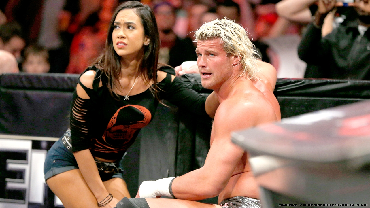 ziggler and aj really dating