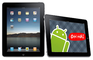 Android Official dominance rob tablet market from Apple hands