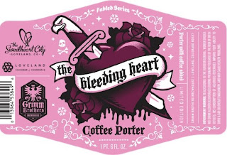 The Bleeding Heart Coffee Porter
