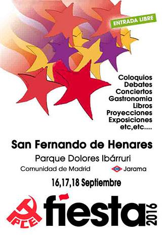 Fiesta del PCE 2016