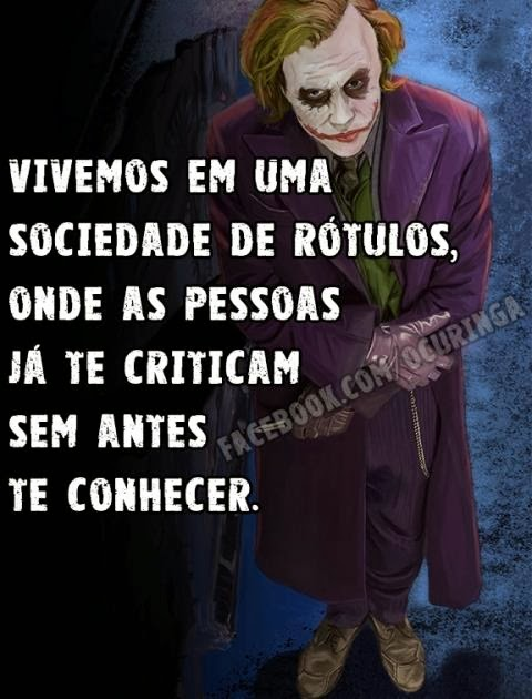 O Curinga on frases do coringa facebook