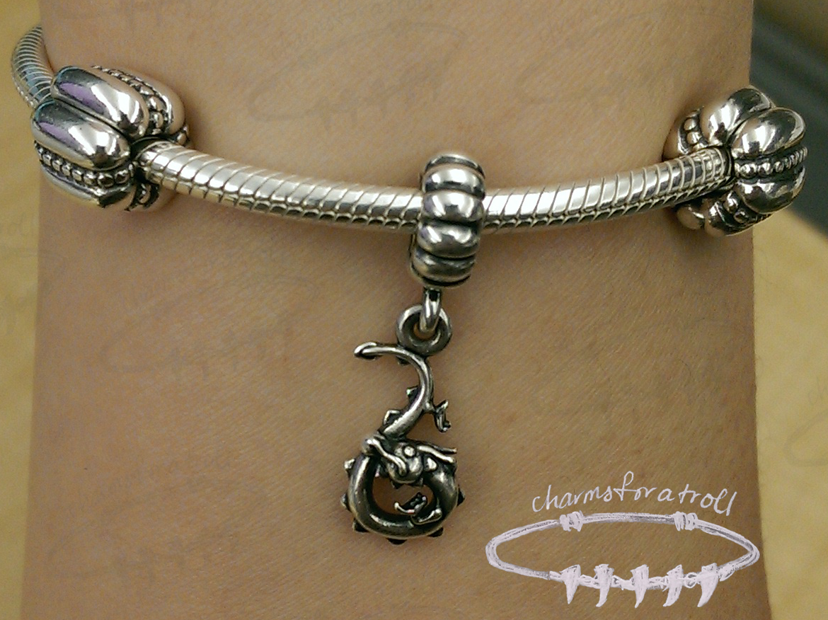 Pandora Dragon Dangle