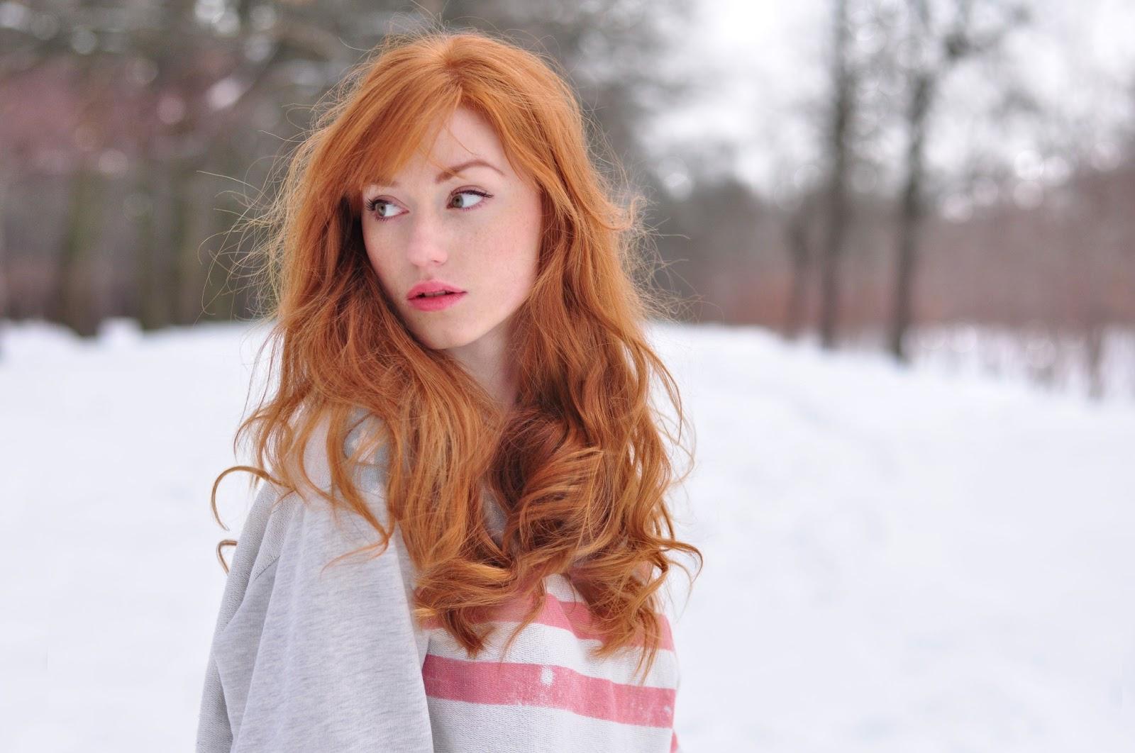 Фото девушек с рыжими волосами 13 фотография