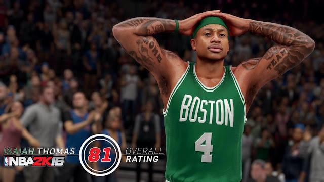 NBA2K16 Isaiah Thomas