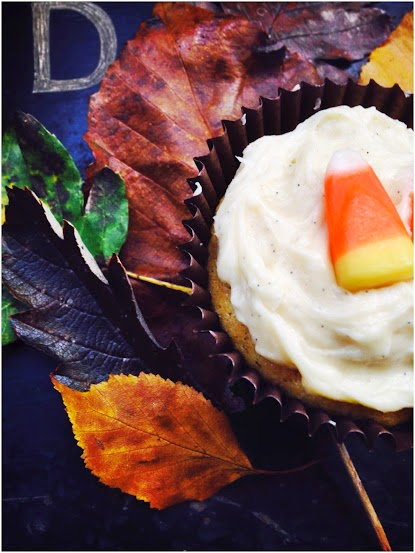 Leaves, Cupcakes and Candy Corn