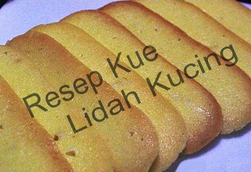 Resep Kue Lidah Kucing Renyah | Resep Kue Kering Praktis