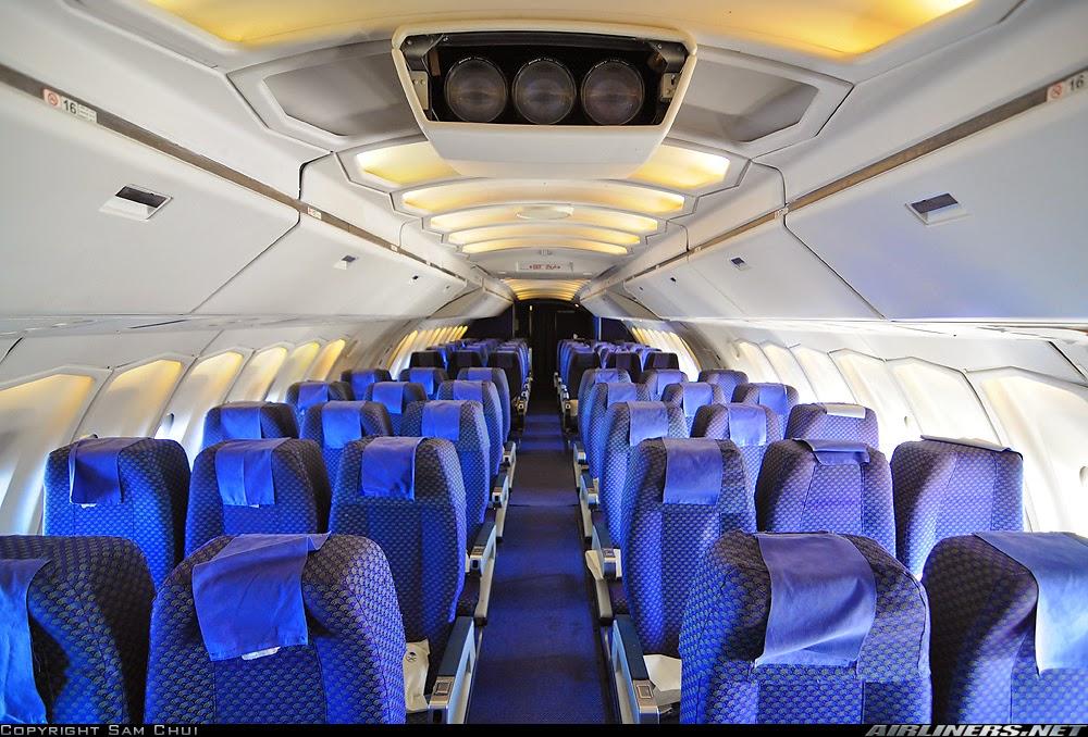 Cabin Saudi Arabian Airlines