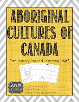 https://www.teacherspayteachers.com/Product/Aboriginal-Cultures-of-Canada-1062417
