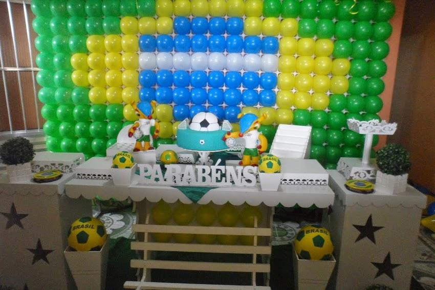 Decoração Copa Brasil 2014