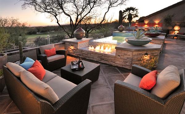 Ide Desain Ruang Tamu Outdoor Model Denah Rumah Minimalis