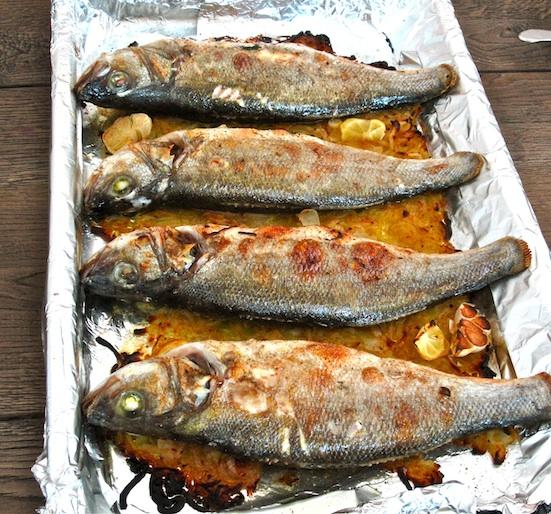 dalia 39 s kitchen oven baked sea bass