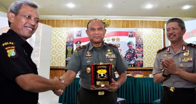 Senkom Riau Pelatihan Belanegara di Korem 031 Wirabima