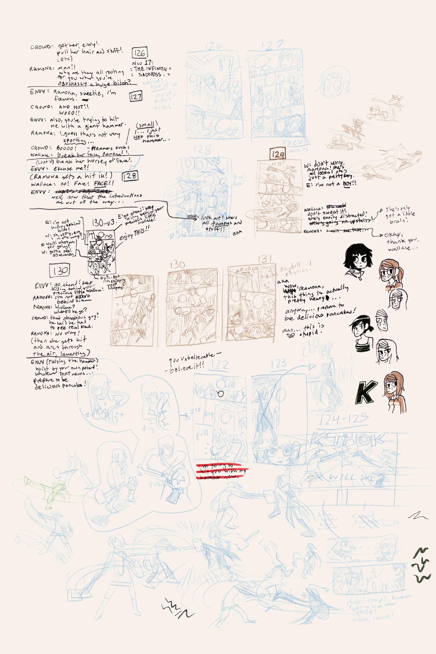 Read online Scott Pilgrim comic -  Issue #3 - 213