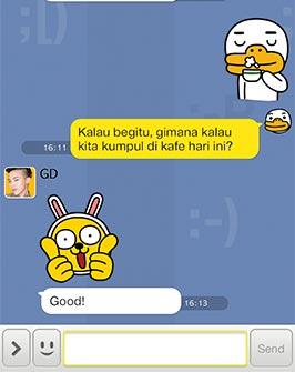KakaoTalk adalah sebuah aplikasi messenger lintas platform yang ...