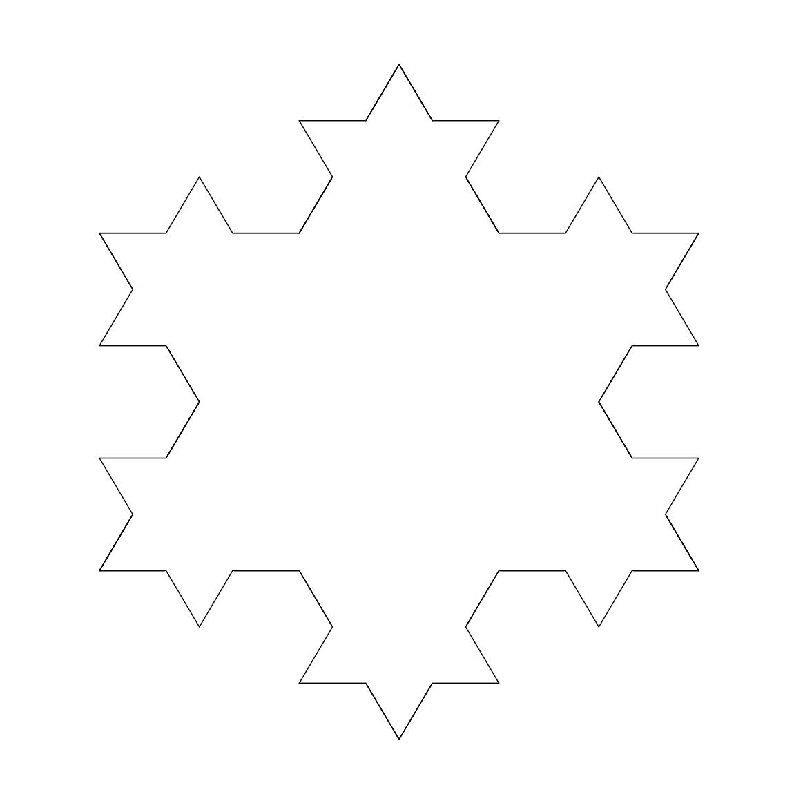 koch snowflakes meandering through mathematics