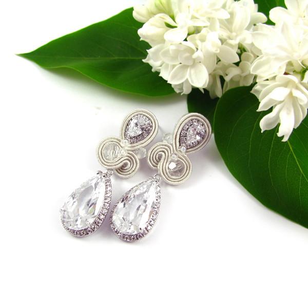 Elegancka biżuteria ślubna sutasz