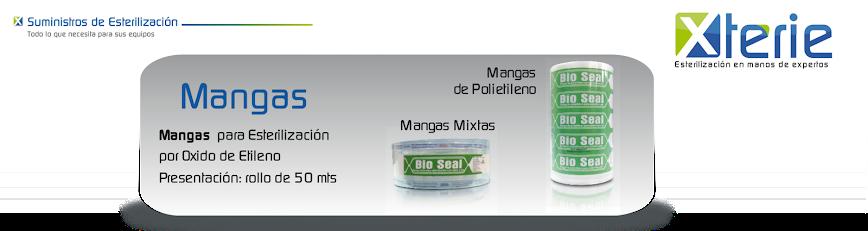 Mangas para esterilizacion por oxido de etileno