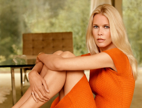 la nouvelle collection de Claudia Schiffer