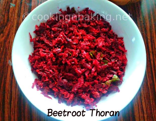 Beetroot Thoran | How to make Beetroot Thoran