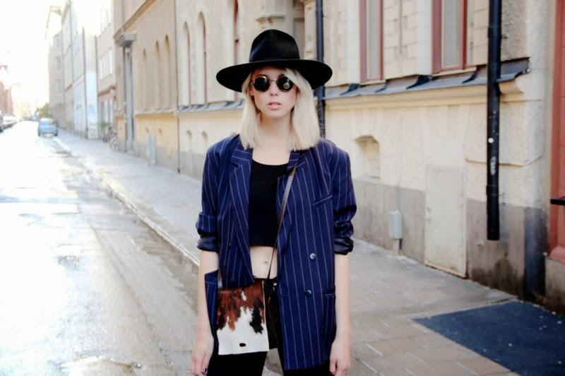London Fashion Trends of 2015 | Outfit with a hat