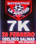 7k Deportivo La Amistad HL en Salinas (Canelones, 28/feb/2015)
