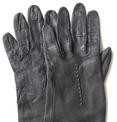 Leather Gloves Fetish 53