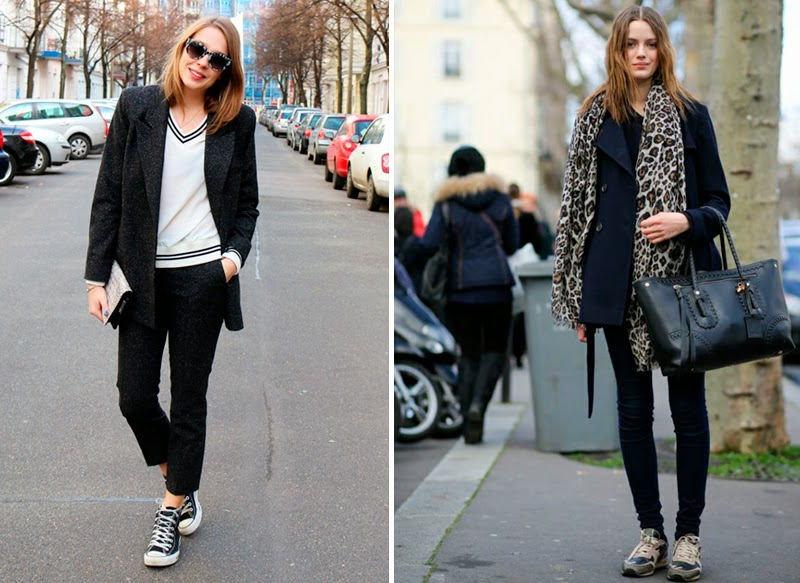 STREETSTYLE: SPORTY CHIC