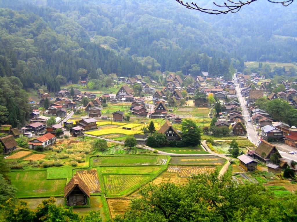 vista panoramica del pueblo
