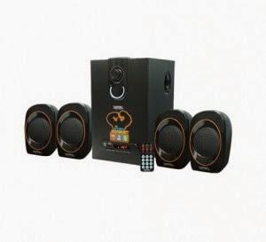 Buy Zebronics ZEB-SW3390RUCF 4.1 Speaker System at Rs.1699 only