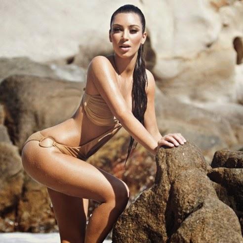 Biodata dan Foto Hot Terbaru Kim Kardashian