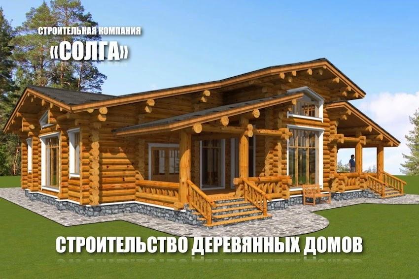 Срубы домов и бань на заказ в москве и