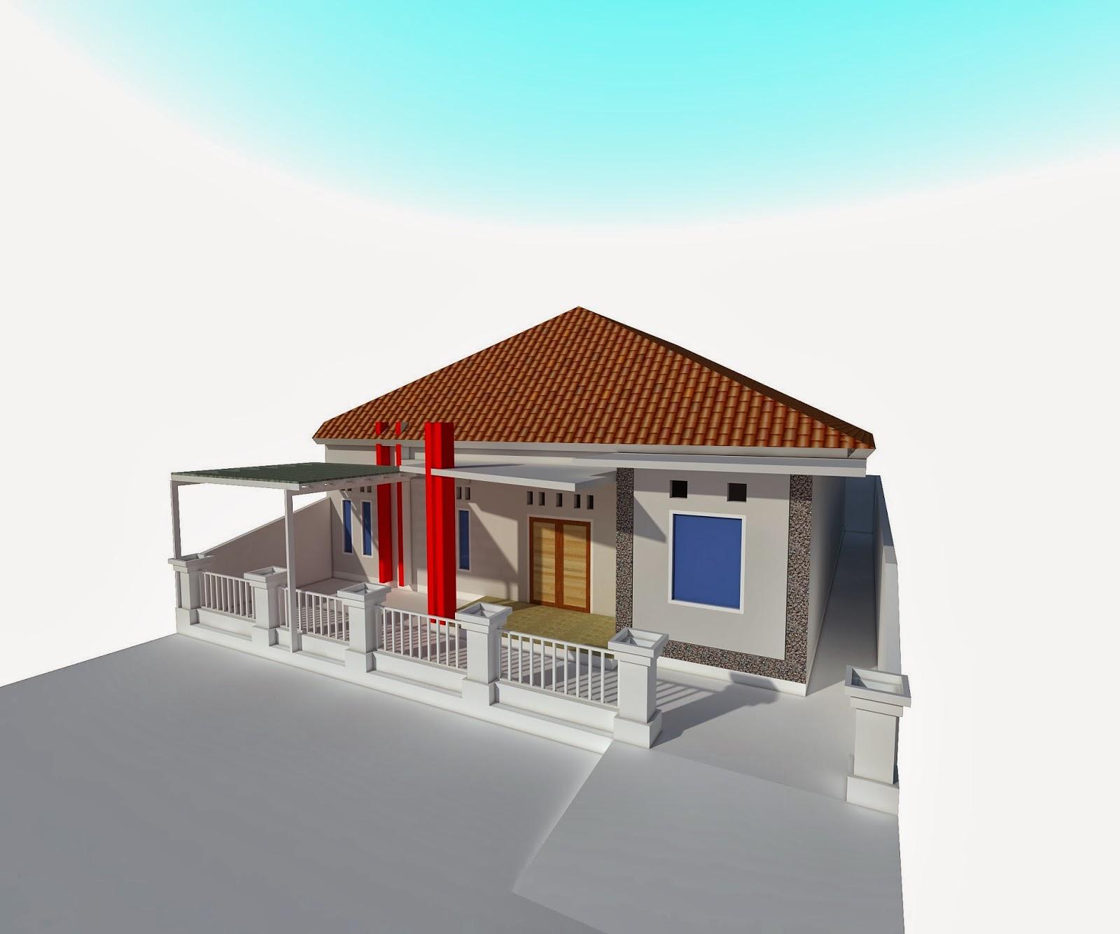khusnul desain rumah sederhana dengan view yang bagus