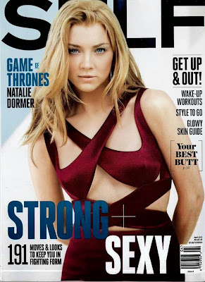 Natalie Dormer sexy poses for Self Magazine April 2015 cover issue