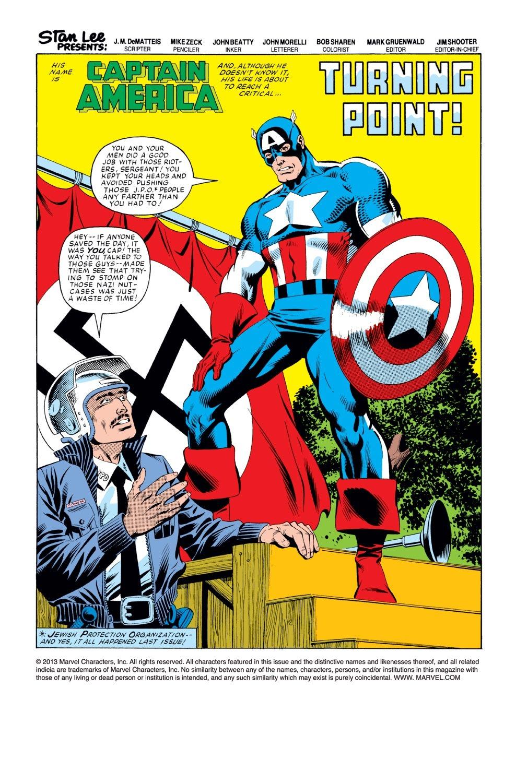Captain America (1968) Issue #276 #192 - English 2