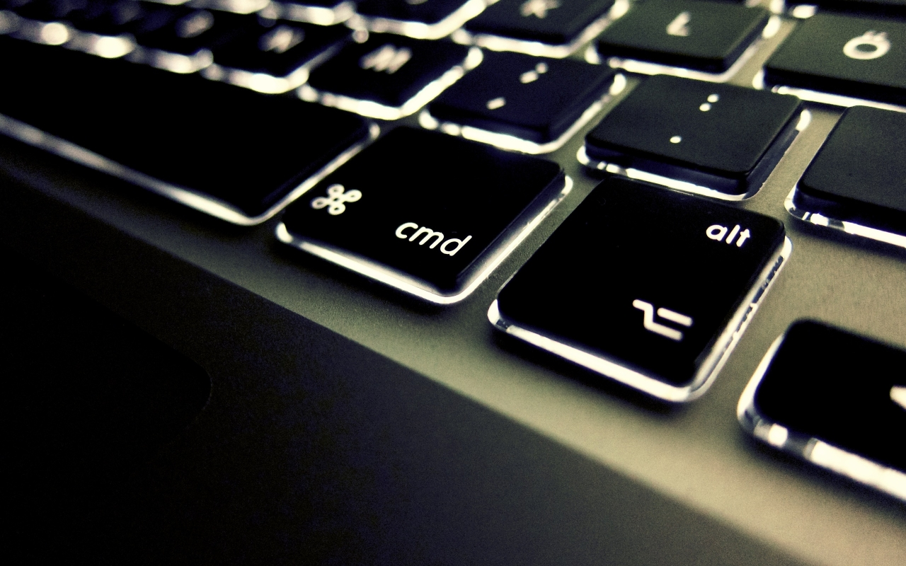 CMD и ALT клавиши, HD Wallpaper