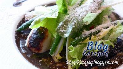 Makanan mewah bercampur tanah di Jepun