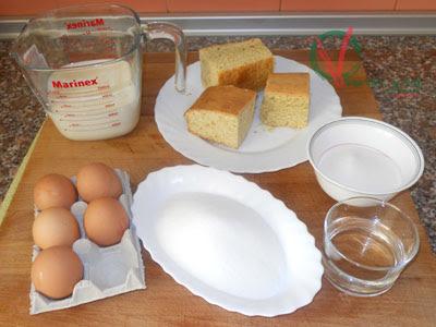Ingredientes para el Pan de Calatrava.