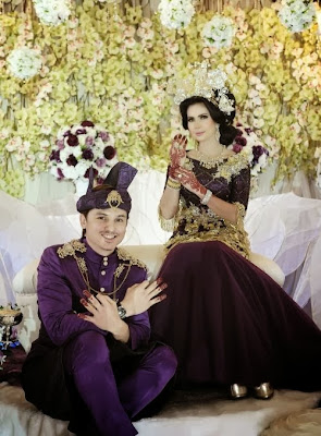 Wedding Of The Year Milik Sapa Zain Che Ta atau Jovian Nina