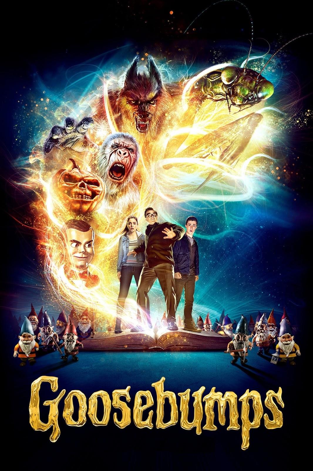 Goosebumps: Monstros e Arrepios – Legendado (2015)