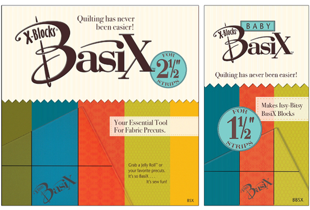 BasiX - Baby BasiX - XBlocks - Patricia Pepe - Quilting Template