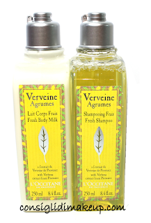 Review: Shampoo Fresco & Latte Corpo Linea Verbena Agrumi - L'Occitane