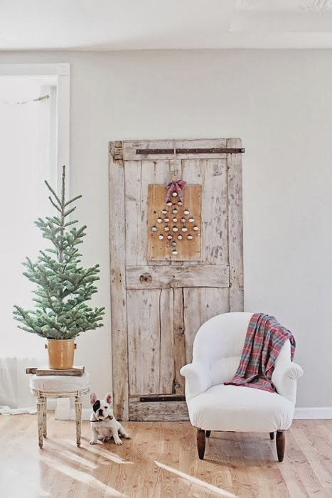 decoraci n f cil decoracion navide a shabby chic con