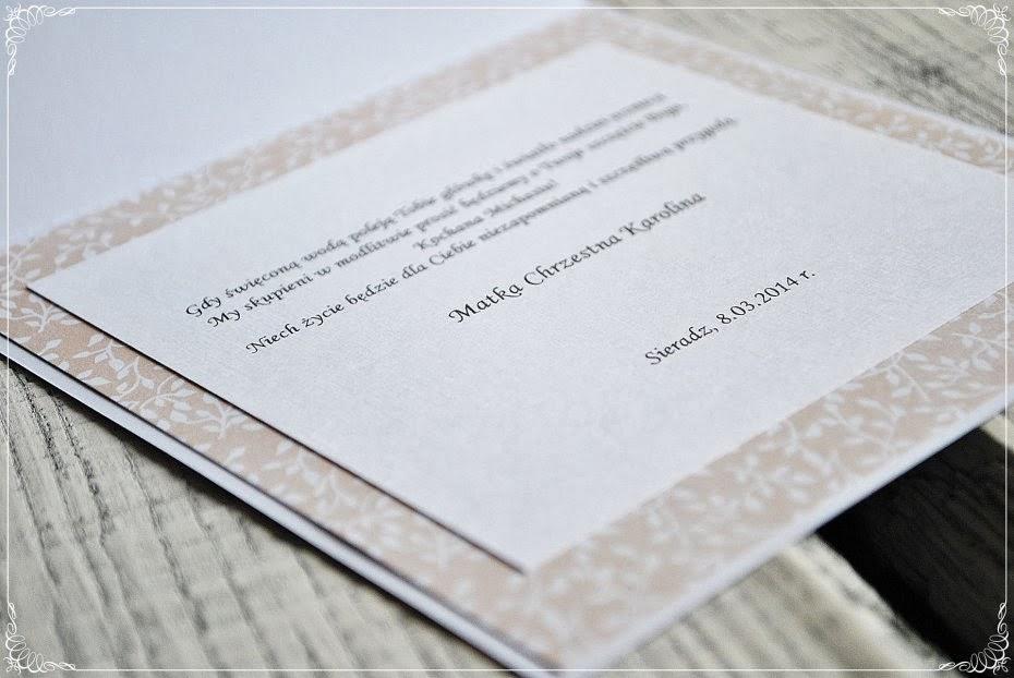 pamiątka chrztu świętego scrapbooking